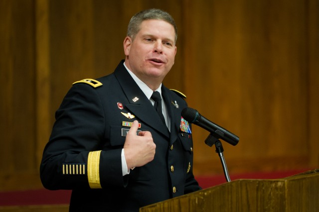 Maj. Gen. Yenter promises to do the same thing that he expects of others, and that is simply to do his best.