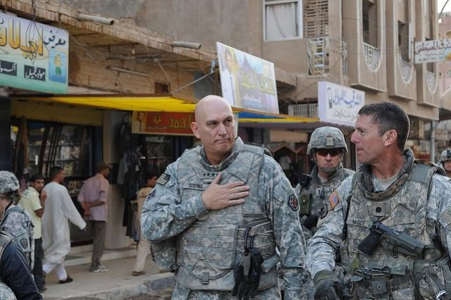 U.S. Army Chief of Staff Gen. Raymond T. Odierno (left) will visit U.S. Soldiers in South Korea Jan. 19 - 20.
