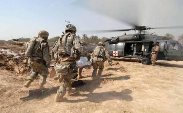 MEDEVAC in Iraq