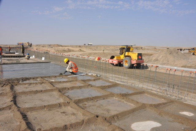 Corps of Engineers completes river bypass for Afghans