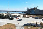 Pre-positioned materiel ready to go aboard USNS Red Cloud