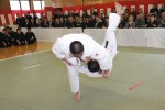 USARJ officials attend local police's New Year Martial Arts Demonstration