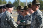 SMA Chandler greets drill sergeants