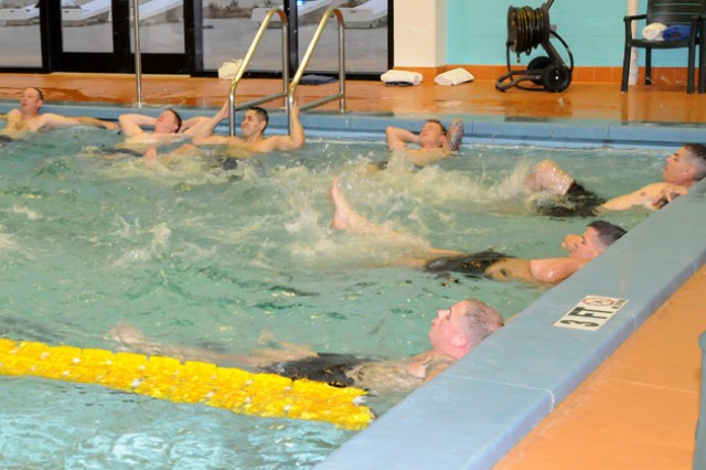 Fitness facility offers aquatic activities