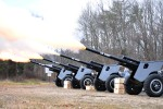 Presidential Salute Battery fires cannons for Belvoir training