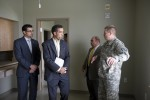 Libyan delegates tour Fort Hood barracks