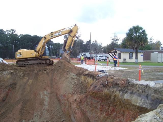 Removal of underground storage tanks