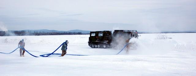 Alaska's ice bridge builders