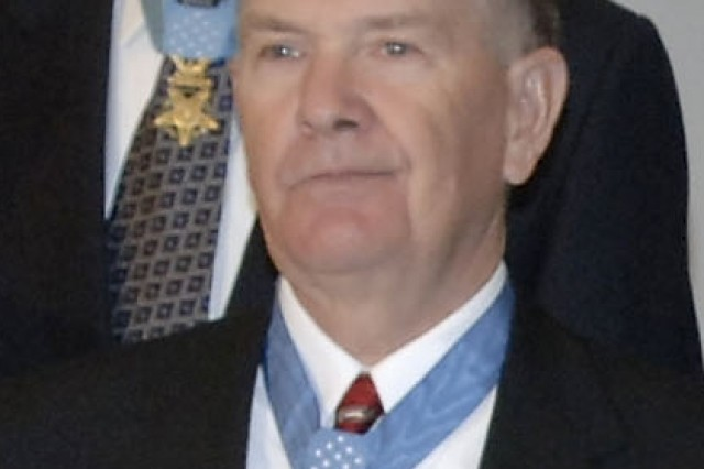 Walter Marm received the Medal of Honor Dec. 19, 1966, for his actions in Vietnam a year earlier.