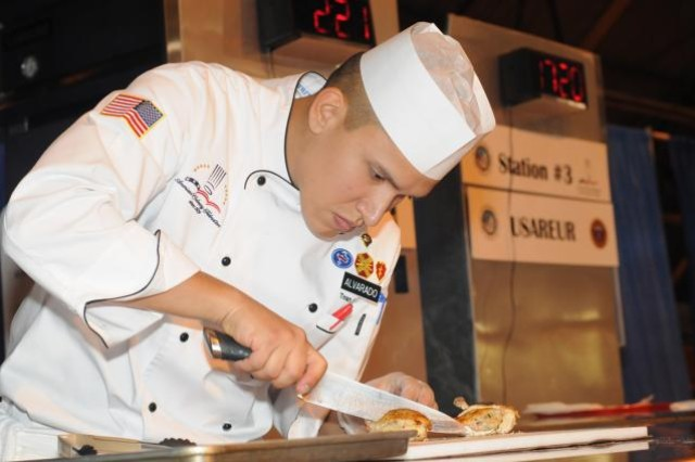 This year's Military Culinary Arts Competition is scheduled for Feb. 29 - March 7 at the Post Field House on Fort Lee.