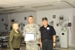Schofield Barracks Health Clinic's own recognized for outstanding support to Reserve component