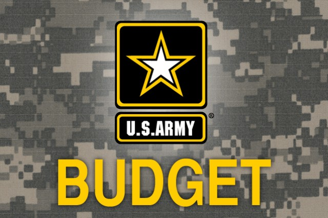 Army budget graphic