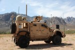 MRAP with WIN-T POP