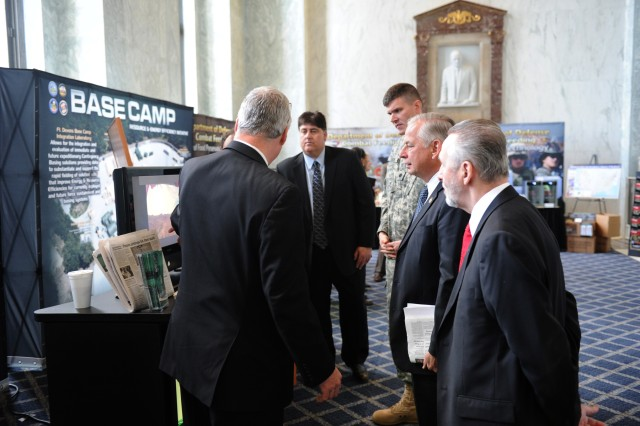 The U.S. Army's Office of the Chief Legislative Liaison hosted more than 400 congressional staffers Feb. 1, 2012, at the fourth annual Army Day on Capitol Hill.