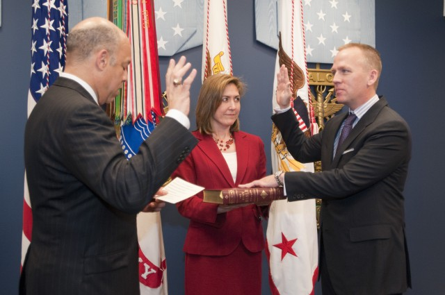 Westphal hosts swearing-in of 20th general counsel of the U.S. Army