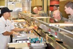 Fueling The Team: Dining Facility offers new selections help everyone get fit