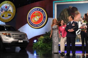 368th engineer battalion soldier surprises wife on wheel