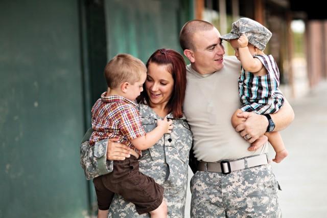 military families statistics
