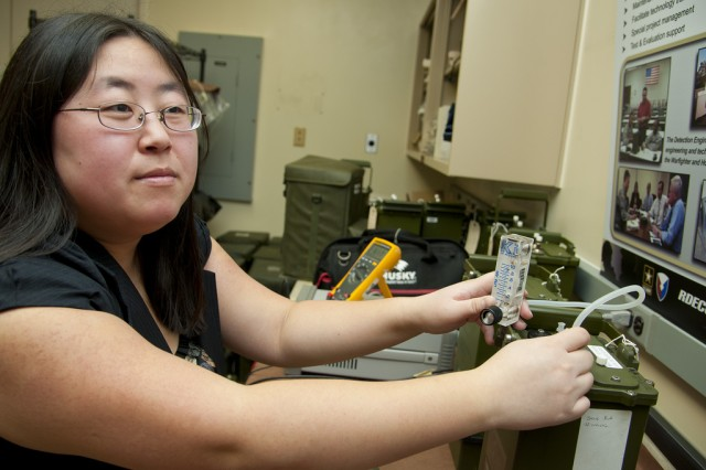 Army engineer protects Soldiers from chemical threats