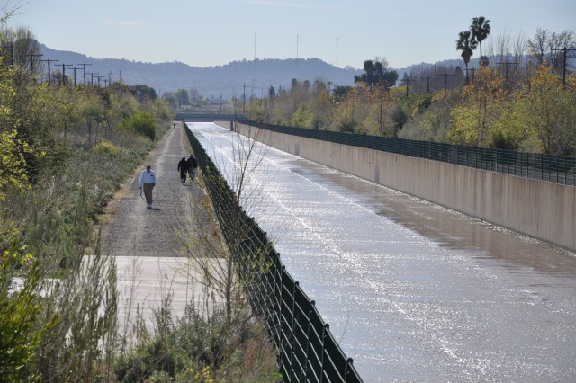The Tujunga Wash Ecosystem Restoration project will connect to the county's Greenway Phase I project, just to the south, which was constructed in 2007.  When combined with the Corps' earlier Greenbelt project, the efforts will create a riparian habitat corridor nearly 2.5 miles long, from Sherman Way to Chandler Blvd.