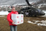 Aiding the Montenegrin Red Cross