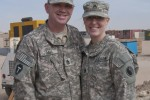 Army National Guard couple deploys together