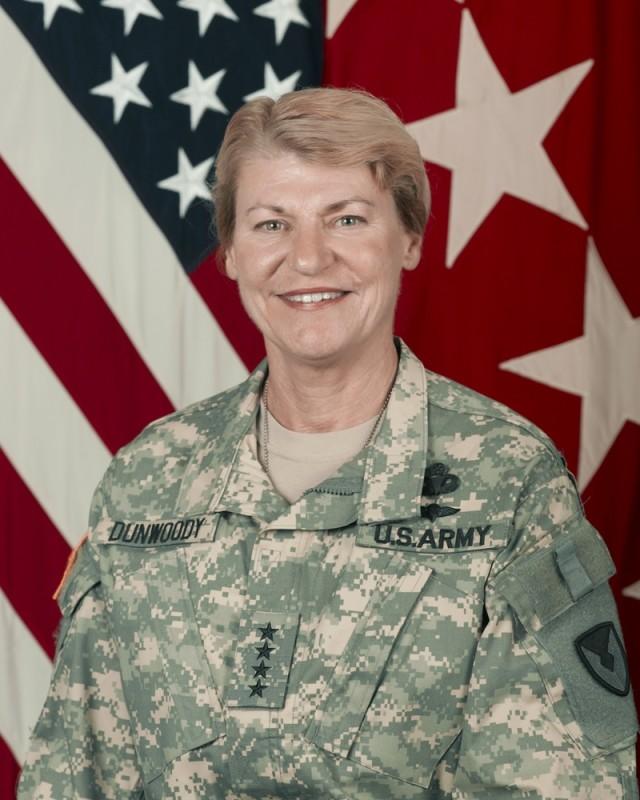 Gen. Ann E. Dunwoody, U.S. Army Materiel Command commanding general