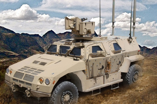 Joint Light Tactical Vehicle prototype 1