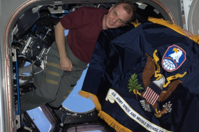 As an Army astronaut, T.J. Creamer was assigned to the Space and Missile Defense Command. He represented his command for six months in 2009-10 on board the International Space Station.