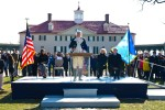 Army honors nation's first president
