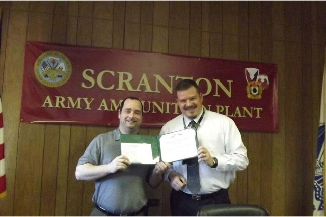 New job, same level of excellence: Scranton AAP specialist awarded