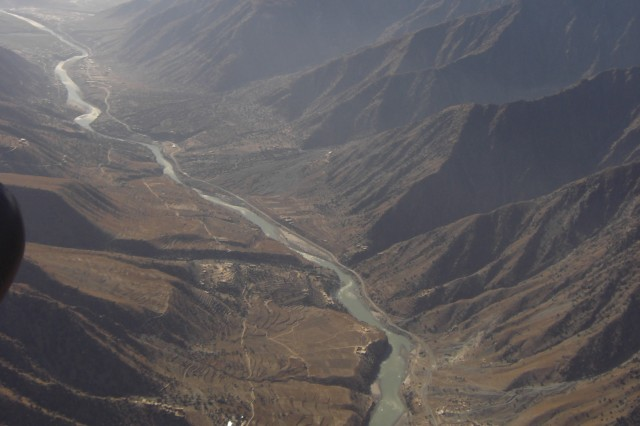 A valley in eastern Afghanistan.