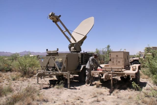 Soldiers tested Warfighter Information Network-Tactical Increment 1 equipment at the Network Integration Evaluation 11.2. in June 2011. (U.S. Army photo)