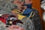 Quilts of Valor presented to Soldiers
