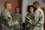 Sgt. Maj. of the Army Raymond F. Chandler visits U.S. Army Europe