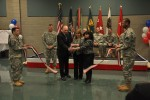 ASCC ribbon falls to the ground to raise Soldier support