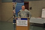 Stultz describes the genesis of the Army Strong Community Center