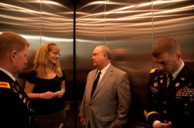 Army Under Secretary visits UT campus, tours research facilities