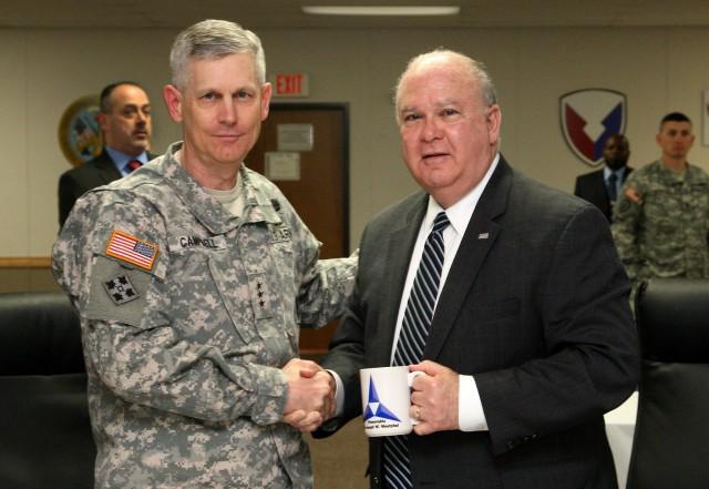 Under Secretary visits Fort Hood