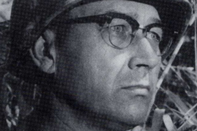 Namesake for the Army Print and Broadcast Journalism Competition and Ceremony, Maj. Gen. Keith L. Ware received the Medal of Honor in World War II, and was killed in action while commanding a division during the Vietnam War.