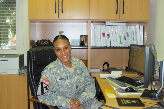 Master Sgt. Cynthia Perryman, 903rd Contingency Contracting Battalion, Kaiserslautern, Germany