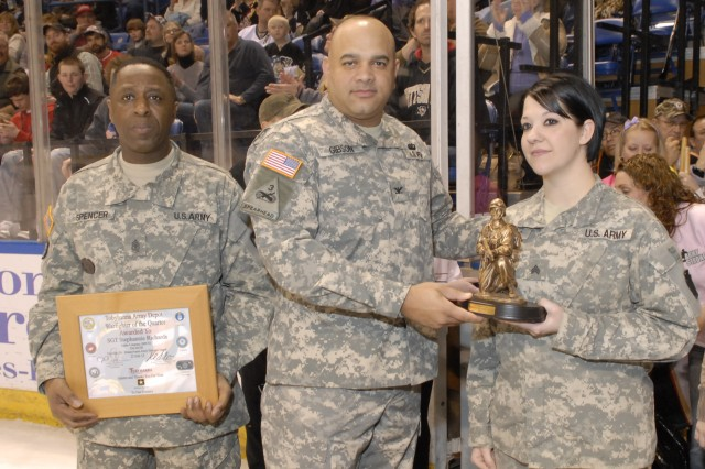 Attention to detail helps NCO earn Warfighter of the Quarter award
