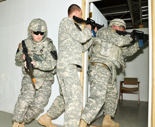 Soldiers participate in Warrior Readiness Assessment Program (WRAP)