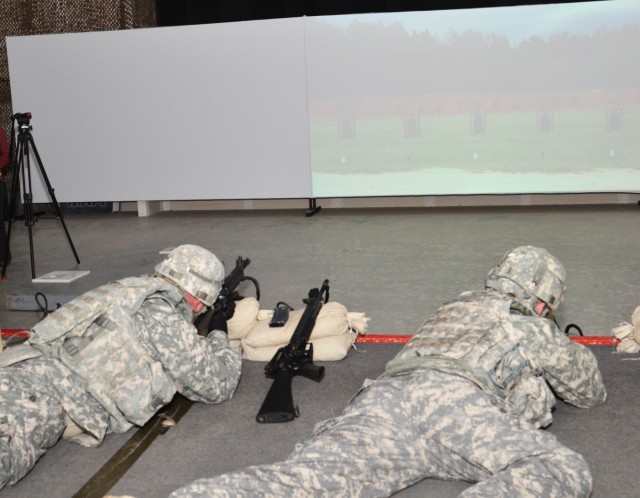 Simulated range training helps Soldiers recovering from TBI