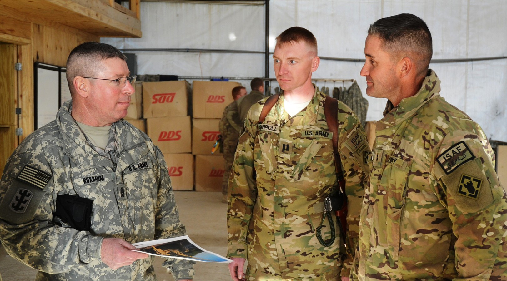 Corps of Engineers senior NCO visits Soldiers of 7th Battalion in ...