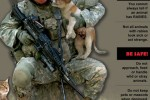 Soldiers need to report contact with rabid animals