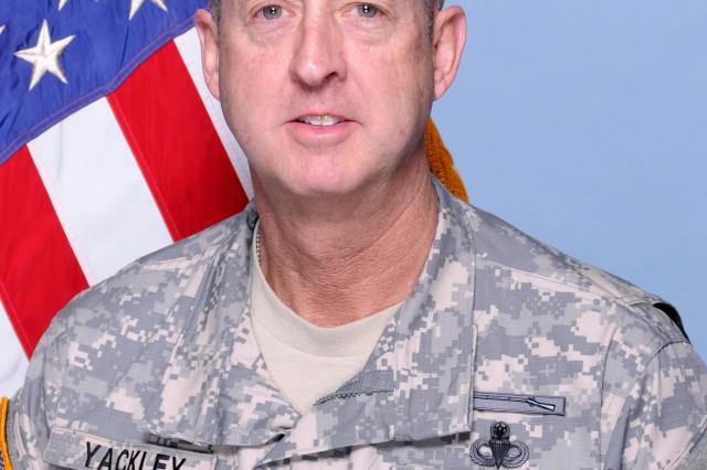 Col. Stephen Yackley, Fort Jackson Deputy Commanding Officer
