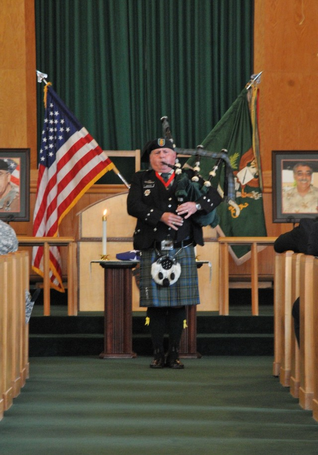 Retired Special Forces command sergeant major remembered in Fort Bragg memorial service