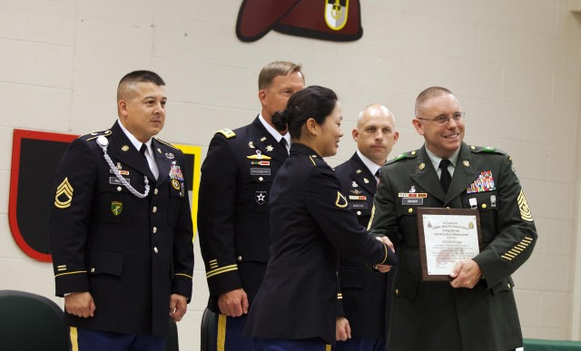 Civil Affairs and Psychological Operations Soldiers graduate training, join Army Reserve force