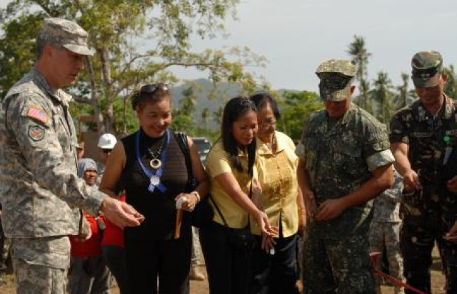 Groundbreaking for school building projects marks Exercise Balikatan